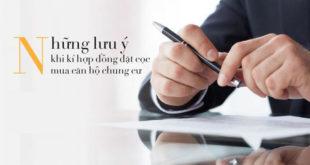 Tìm hiểu về hợp đồng mua nhà chung cư trả góp tại Hà Nội
