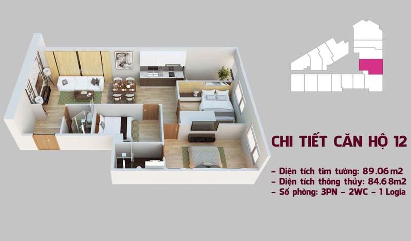 Chi tiết căn hộ 12