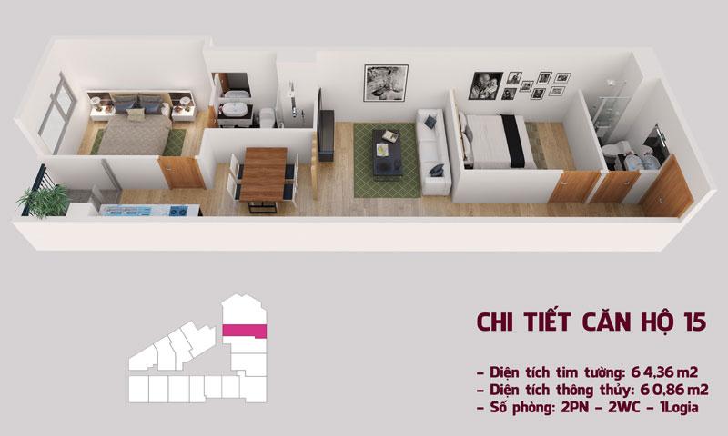 Chi tiết căn hộ 15