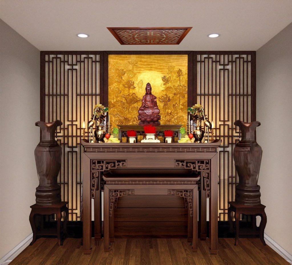 phòng thờ chung cư