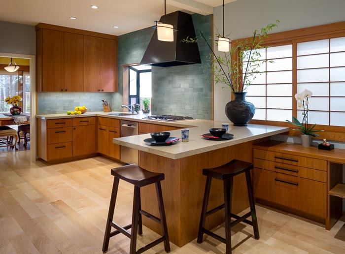 Thiết kế nhà bếp phong cách Nhật